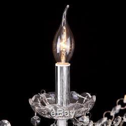 Elegant Crystal Decoration Chandelier Luxury Pendant Ceiling Lamp 12 Lights