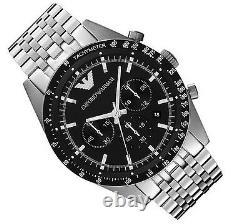 Emporio Armani Men's Watch Ar5988 Tazio Chronograph Brand New In Box