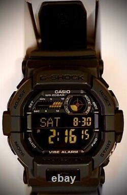 FREE SHIPPING! BRAND NEW! Casio G-Shock GD-350 1B Mens Watch
