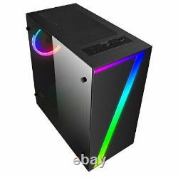 Fast Gaming PC Computer Bundle Intel Quad Core i7 16GB 1TB Win10 4GB GTX1050Ti
