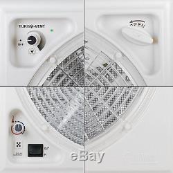 Fiamma Kurbeldachhaube Polar Control Turbo Vent Crystal mit Thermostat + Dekalin