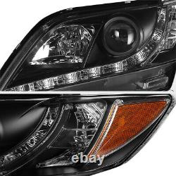 For 07-09 Toyota Camry NEWEST LED DRL Projector Headlights Headlamp LEFT RIGHT