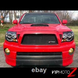 For 2005-2011 Toyota Tacoma HALO LED Projector Headlights Pre Runner X Runner