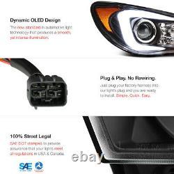 For 2006-2007 Subaru Hawkeye WRX NEON TUBE Projector Headlight Lamp Left+Right