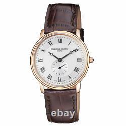 Frederique Constant Slimline Quartz Movement Silver Dial Ladies Watch FC-235M4S4