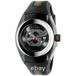 Gucci YA137101 Sync XXL Watch BLACK Brand New Authentic