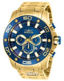 Invicta 26078 Men's Pro Diver Chronograph Quartz Blue Dial Watch