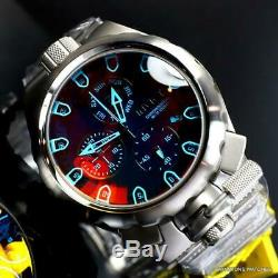 Invicta Coalition Forces Sniper Tinted Crystal Stainless Steel 50mm Watch New