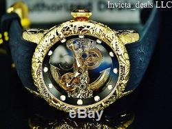 Invicta Men 50mm Empire Dragon Automatic Skeletonized DL Sapphire Crystal Watch