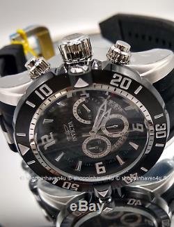 Invicta Men's Pro Diver Scuba 200M Sapphire 17JEWEL MOVEMT Blk Chronograph Watch