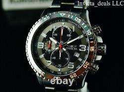 Invicta Men's Specialty FLIGHT Chronograph Gunmetal Tone Stainless Steel Watch