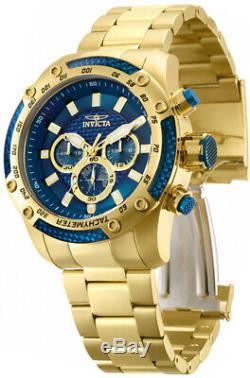 Invicta Men's Speedway Quartz Chrono 100m Gold Tone Stainless Steel Watch 28659