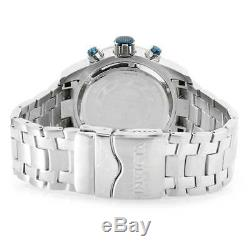Invicta Men's Watch Speedway SCUBA Chronograph Blue Dial Steel Bracelet 25943
