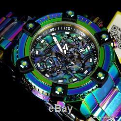 Invicta Reserve Grand Octane Arsenal Swiss 63mm Iridescent Abalone Watch New