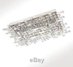 LED XL 62cm crystal ceiling light ceiling lamp chandelier wall light fixture