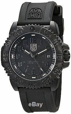 Luminox Men's 3051. BO Navy Seal Colormark Quartz Black Rubber Strap 44mm Watch