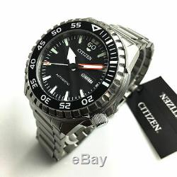 Men's Citizen Automatic Steel Diver's Watch NH8388-81E