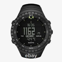 Men's Core All Black SS014279010 Resin Quartz Sport Watch