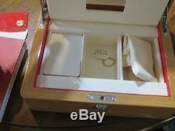 Mens OMEGA Seamaster Aqua Terra Grey Dial - BRAND NEW WOOD BOX, Warranty cards