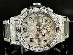 Mens brand new Hublot Big Bang 44mm evolution ceramic band diamond watch 15.95