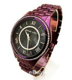 Michael Kors MK3724 Women's'Lauryn' Quartz Stainless Steel Purple Watch