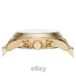 Michael Kors MK6359 Chronograph Two-Tone Stainless Steel Bracelet Watch 43mm