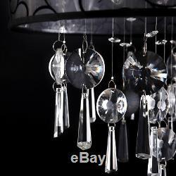 Modern Chandelier Crystal Ceiling Lamp Light Pendant Fixture Bedroom Living Room