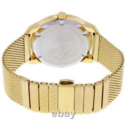 Movado 3600373 Bold Gold Tone Stainless Steel Mesh Bracelet Men's Watch