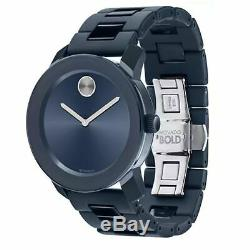 Movado 3600444 Men's Bold Blue Quartz Watch
