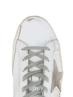 NEW $1600 Golden Goose Deluxe Brand Superstar Crystal Embellished Sneakers IT 37