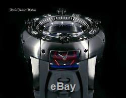 NEW 52MM Invicta Reserve Star Wars TIME UNIVERSE Swiss Quartz Black Strap Watch