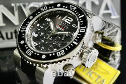 NEW Invicta Men GRAND Pro Diver OCEAN VOYAGE Charcoal Dial Chrono Strap Watch