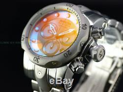 NEW Invicta Men's Reserve 54mm Venom Swiss Chronograph TINTED CRYSTAL SS Watch