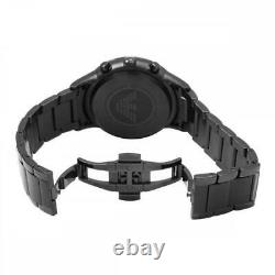 New Emporio Armani Ar2453 Genuine With Certificate Men's Watch Chronograph Black