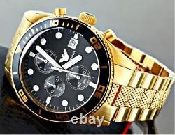 New Genuine Emporio Armani Ar5857 Yellow Gold Stainless Steel Men's Watch Uk