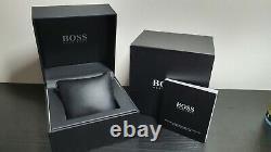 New Genuine Hugo Boss 1513473 Grand Prix Rose Gold Tone Chrono Mens Watch