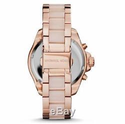 New Genuine Michael Kors Mk6096 Wren Crystal Rose Gold Ladies Watch Uk Gift