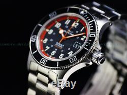 New Glycine 42mm Combat Sub Swiss Automatic Sapphire Diver Watch, Gl0249, 3908