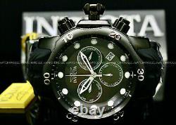 New Invicta Men 52MM SEA DRAGON Venom Black MOTHER OF PEARL Dial Chrono SS Watch