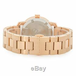 New Movado Bold 3600086 Rose Gold Stainless Steel Crystal Dot 36mm Ladies Watch