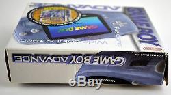 Nintendo Game Boy Advance Glacier System Brand New in Box, No Crystal Version