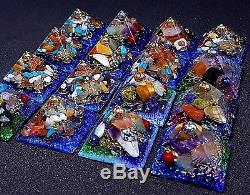 Orgonite Orgone Pyramid crystal energy yoga health Ornament Healing gift