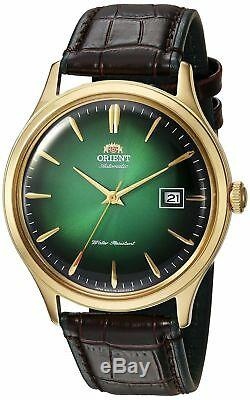 Orient Men's'Bambino Version 4' Japanese Automatic Stainless Steel and Leath