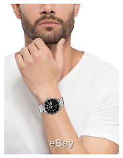 Orient Men's FAA02001B9 Mako II Analog Automatic Hand-Winding Silver Watch
