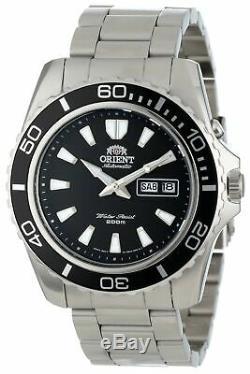 Orient Men's'Mako XL' Japanese Automatic Stainless Steel Watch FEM75001BW