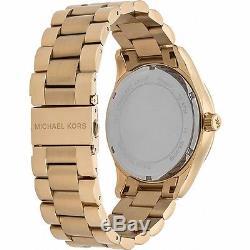 Original Michael Kors Uhr Damenuhr MK5959 Layton Crystal FarbeGold NEU