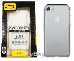 Otterbox Symmetry Series Case Slim Cover For iPhone 7 iPhone 8 Crystal Clear