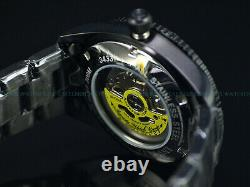 Rare New Invicta 1953 Pro Diver Mens Nh35 Automatic 40mm All Black Ip Ss Watch