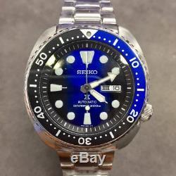 SEIKO Prospex Turtle SRPC25 Automatic 200m Diver Navy Black 2018 New Color