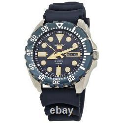 Seiko 5 Sports Automatic 24 Jewels Blue Dial Men's Watch SRP605J2